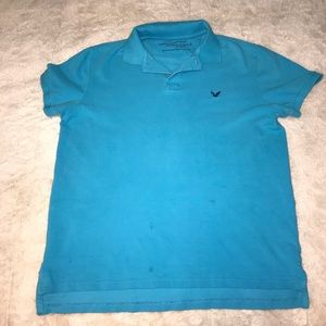 Men's American Eagle polo. Large